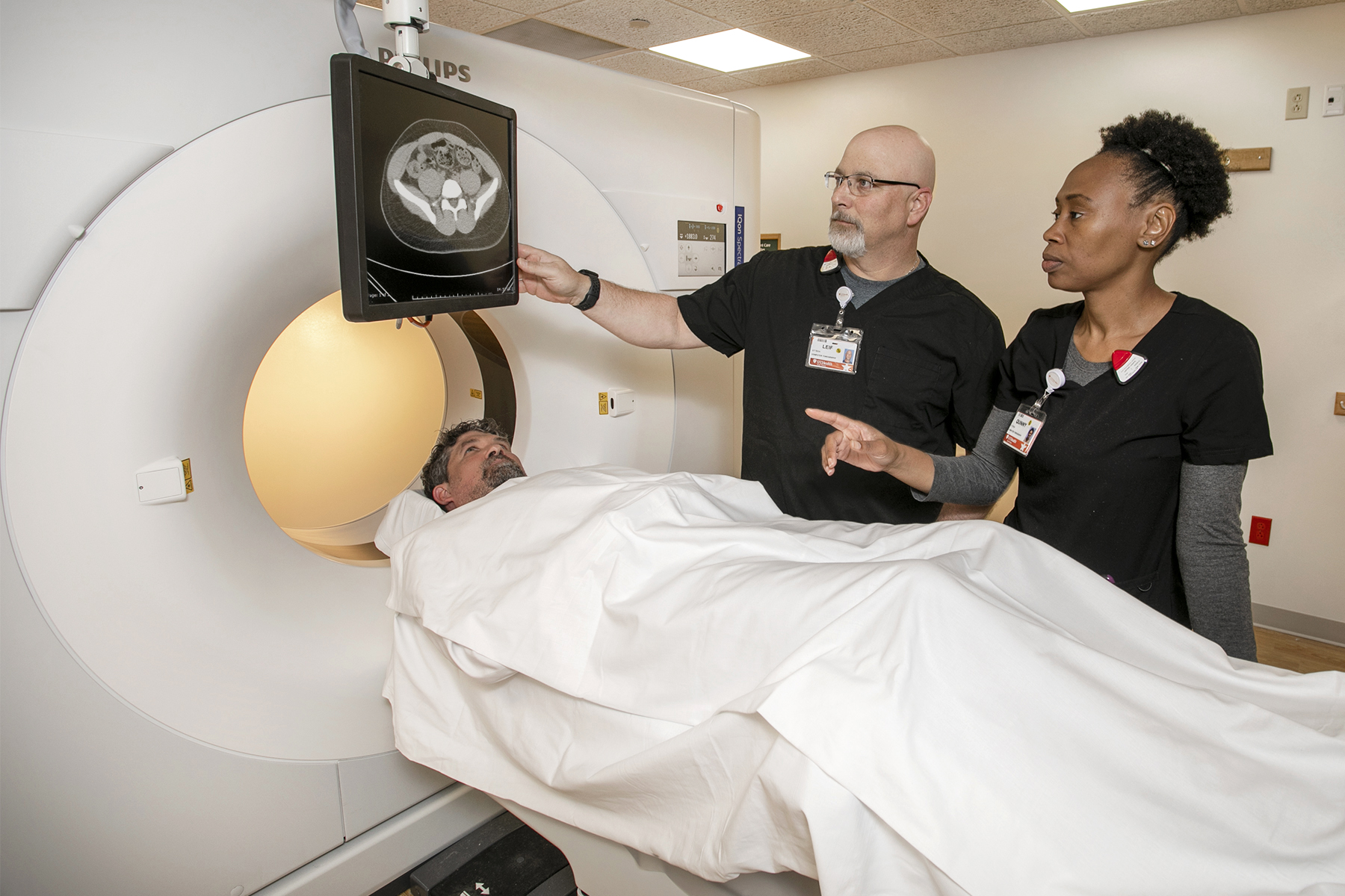 Philips IQon Spectral CT Scanner at UT Health Tyler Imaging